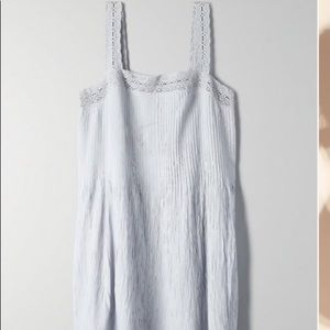 Aritzia Wilfred leone dress